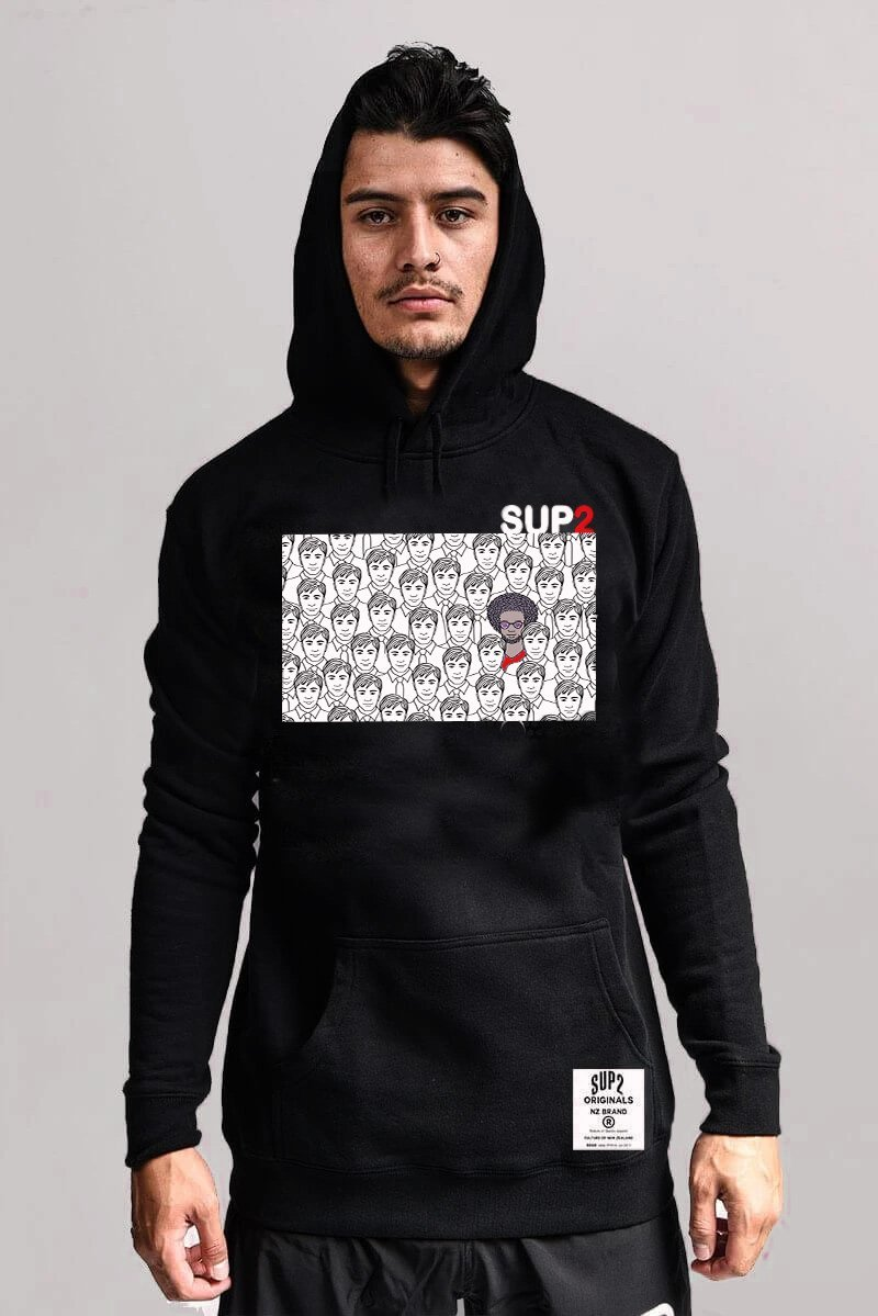 SUP2 'Uncle Wax' Heavyweight Hood - SUP2
