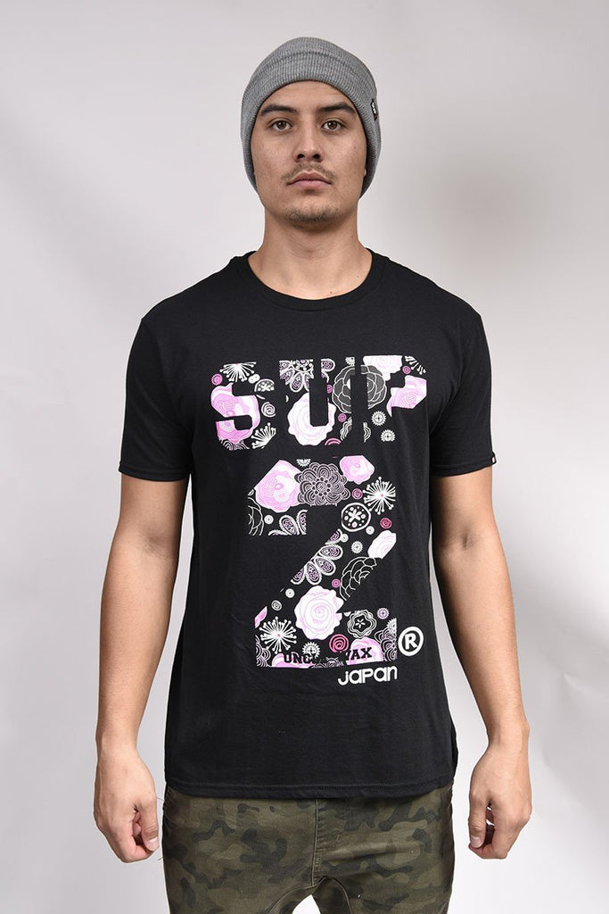 Techno Blossom Mens Tee - SUP2