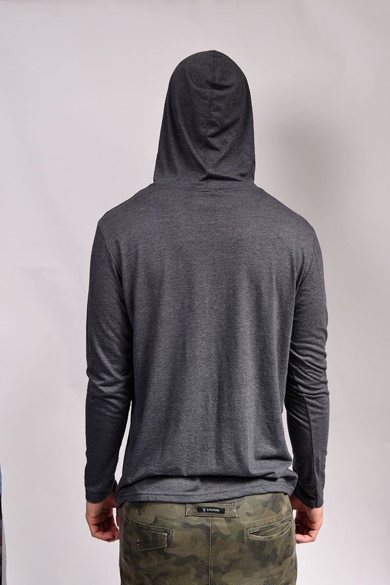 Wintergarden Long Sleeve Hooded Tee - SUP2