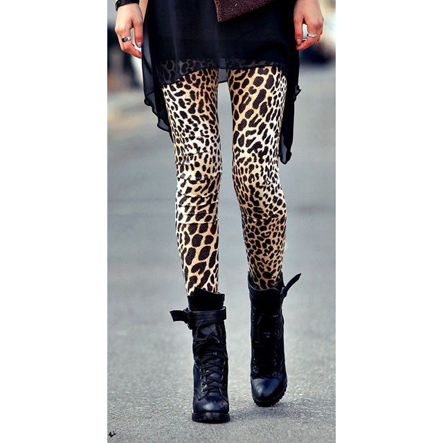 Sexy Leopard Leggings