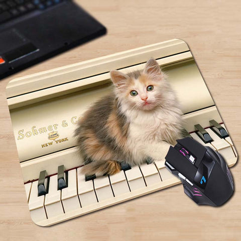 Musical Kitty Mouse Pads