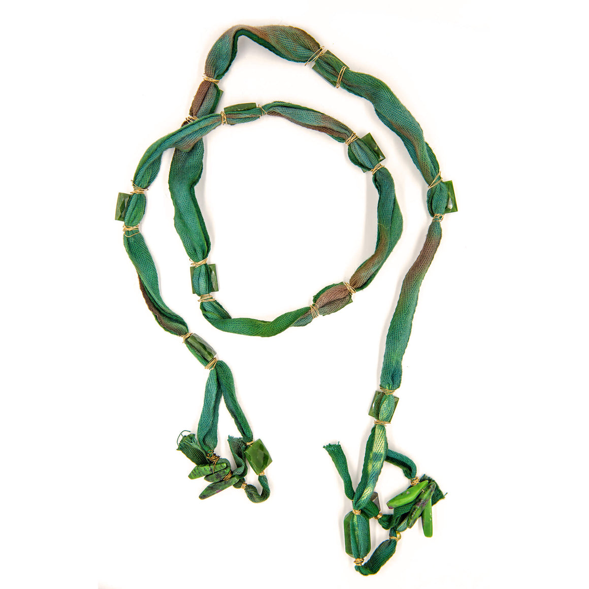 Green Protection Necklace