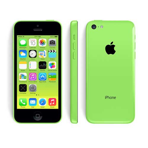 refurbished iPhone 5C green
