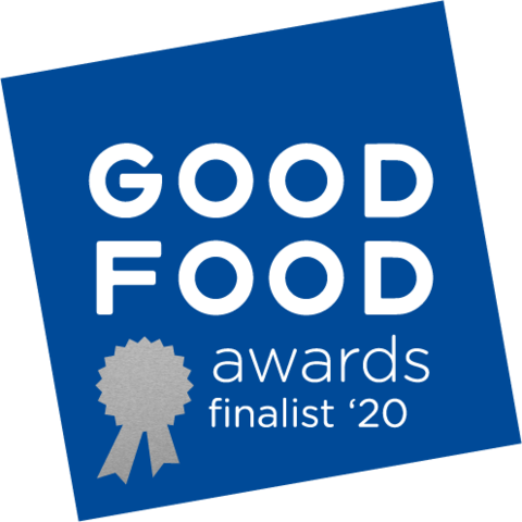 We're a 2020 Good Food Winner!