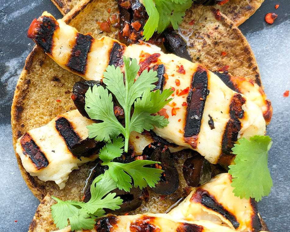 Grilled Halloumi Tacos