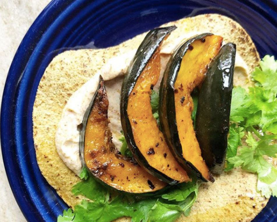 Roasted Acorn Squash Taco Recipe