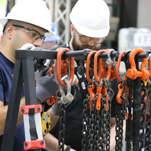 Online Course: CMCO Rigging Gear Inspection Certification | Part # OL-RG-C