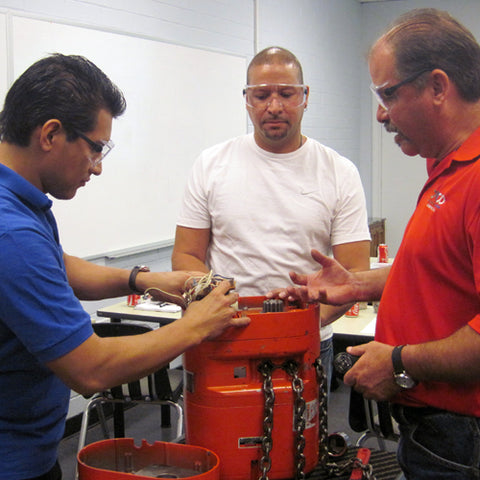 CMCO Overhead Crane & Hoist Inspection Certification Course