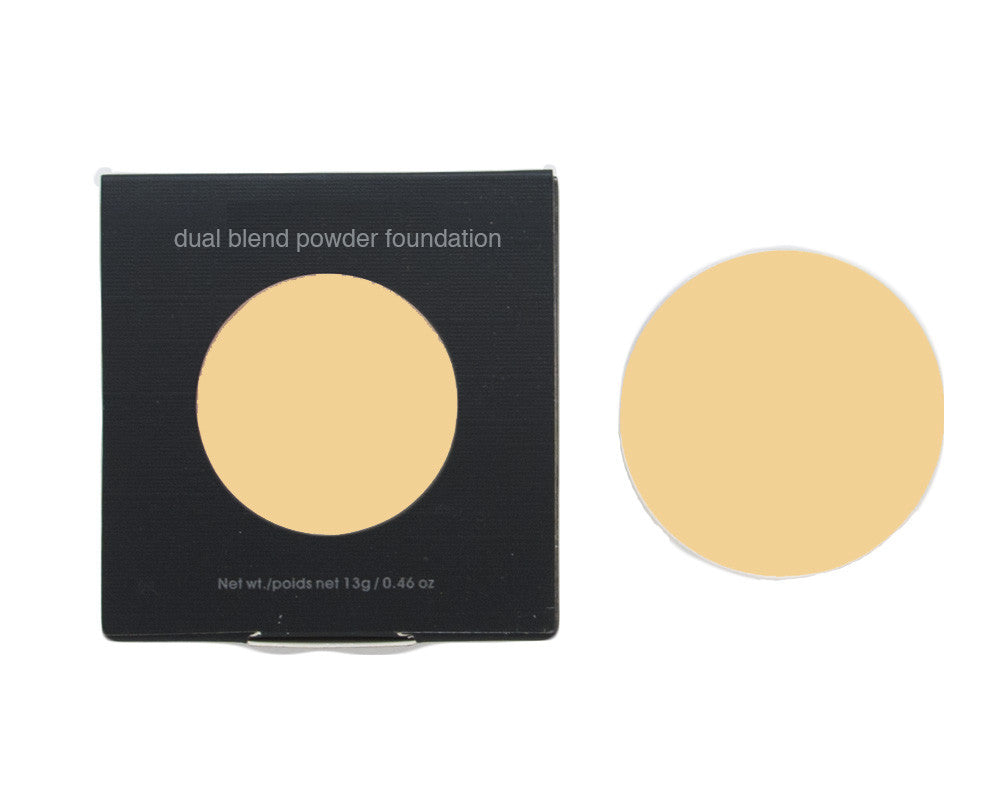 Dual Blend Powder Foundation Pan