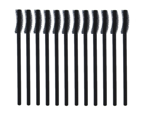 Silicon Mascara Wands (12 pcs)
