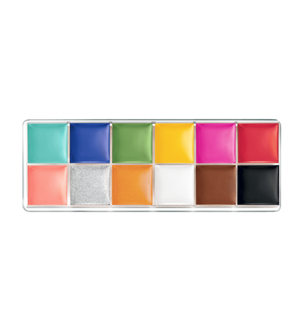 Color Rich Paint Palette