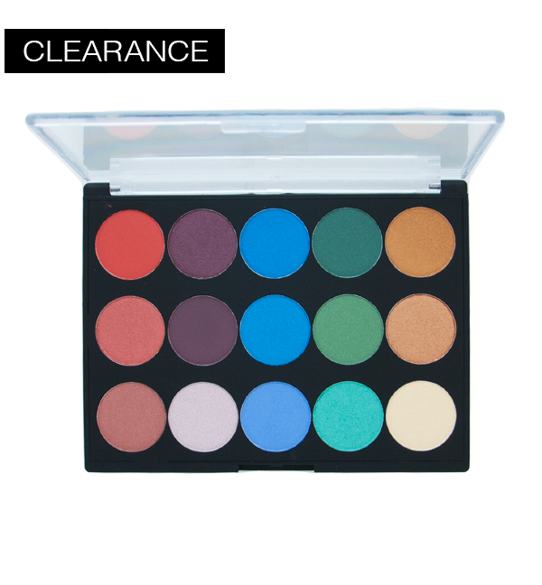 Clearance 15 Shade Eyeshadow Palette