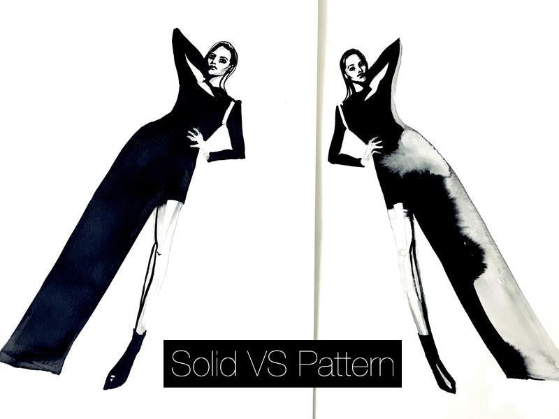 WHY TO CHOOSE SOLID INSTEAD OF PATTERN PRINT