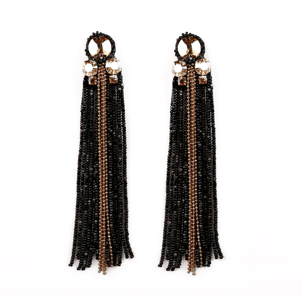 Sheen Tasseled Earrings - KATANA FASHION BOUTIQUE