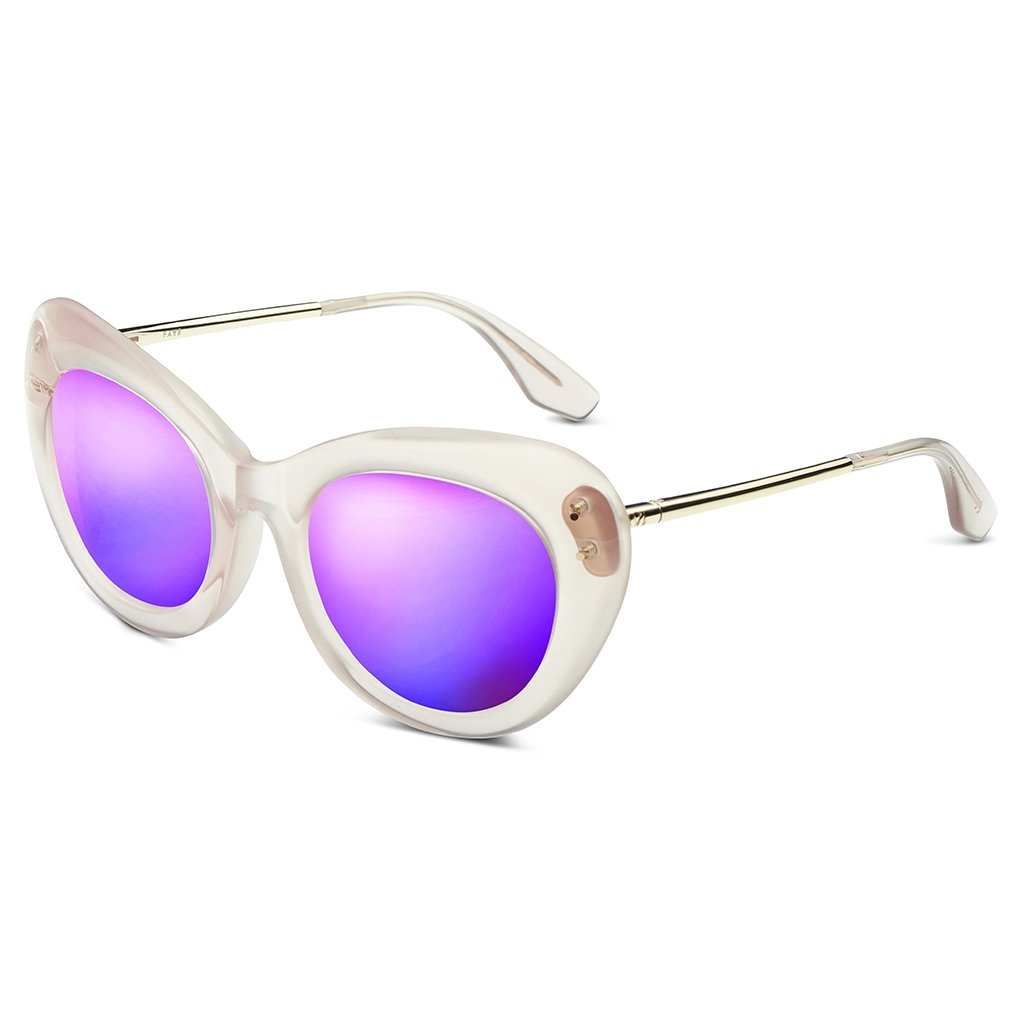 IVI Sunglasses  Faye: Polished Nude - Polished Champagne / Super Bronze Lens