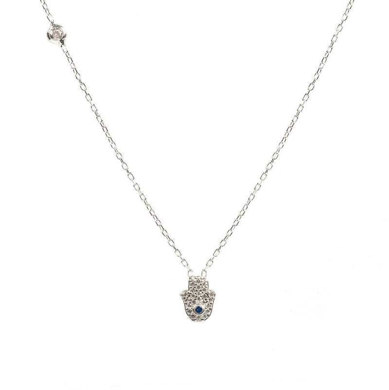 Hamsa Hand Necklace - KATANA FASHION BOUTIQUE