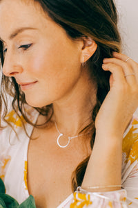 Meredith Hoops Earrings