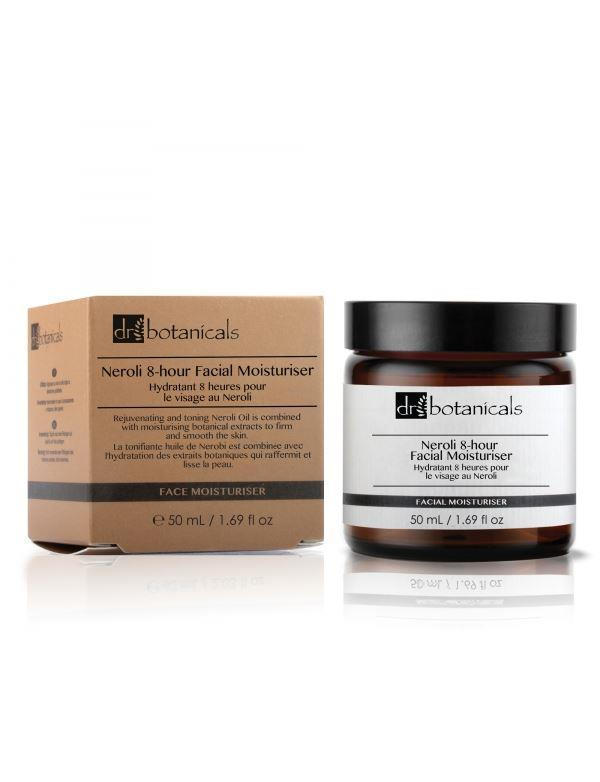 Dr. Botanicals  Neroli 8-Hour Facial Moisturiser - KATANA FASHION BOUTIQUE