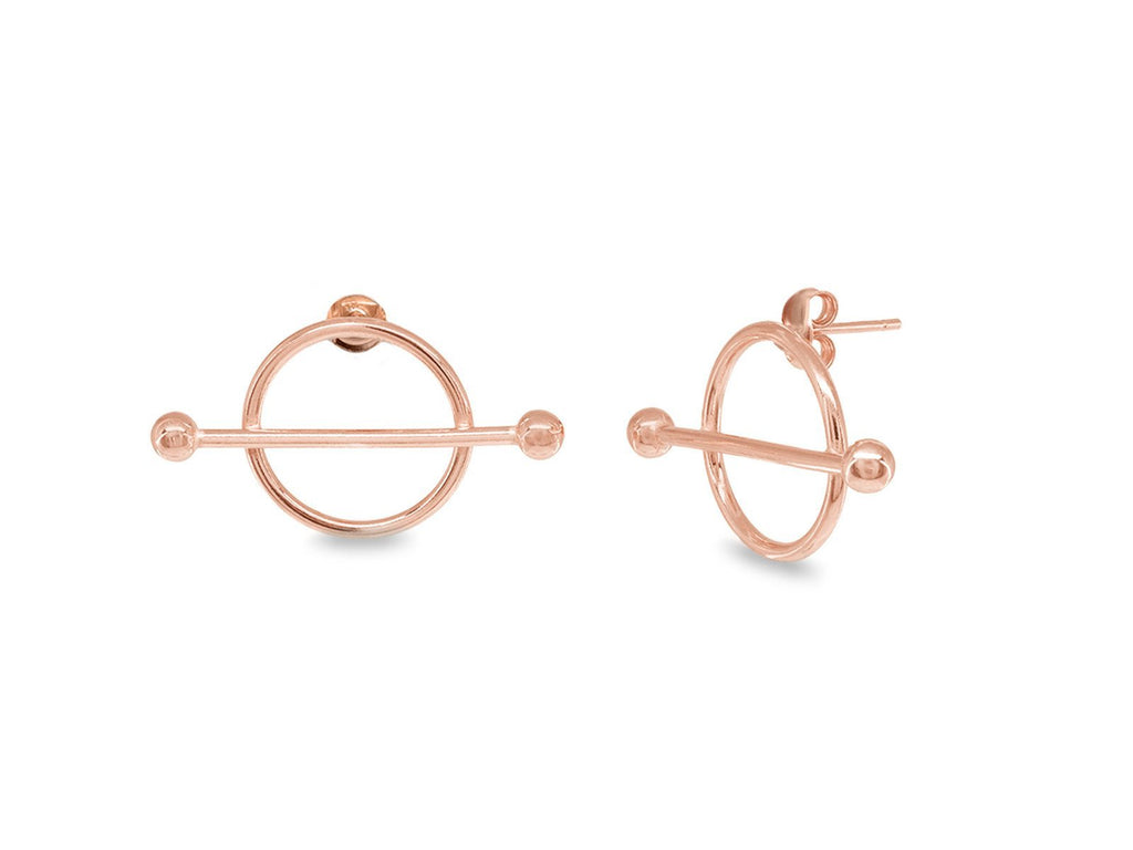 Rose Constellation Stud Earrings