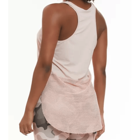 White Fishnet Tank Top - Enjoy - KATANA FASHION BOUTIQUE