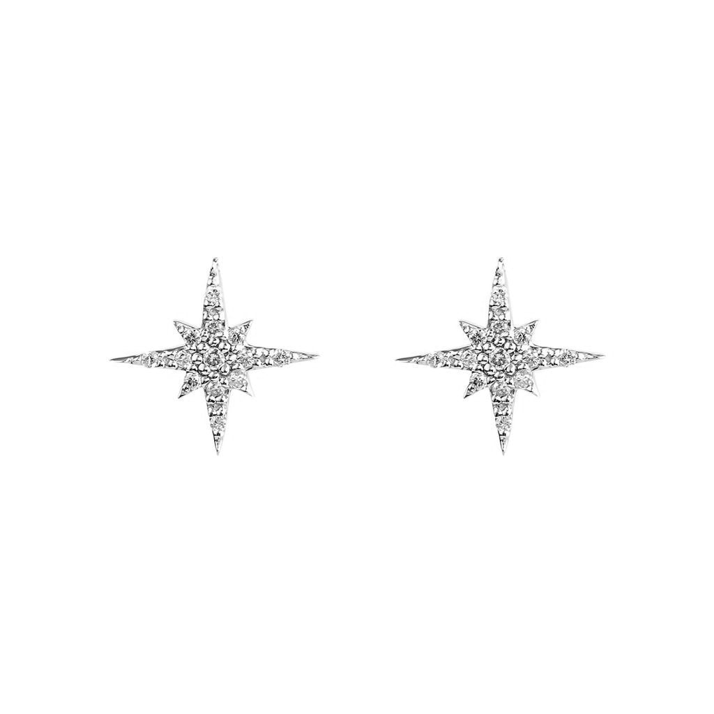 Mini Starburst Studs Earrings