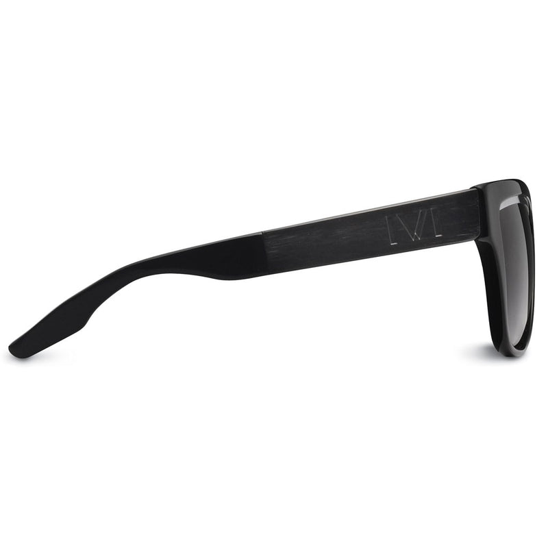 IVI Sunglasses  Dusky: Polished Black - Brushed Black / Grey Lens - KATANA FASHION BOUTIQUE