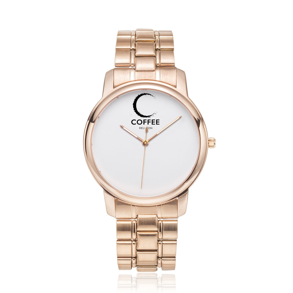 COFFEE RELIGION MIAMI COFFEE TIME Minimalist Watch - KATANA FASHION BOUTIQUE