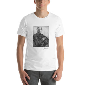 PRAYER by Artist Nele Zirnite Graphic Short-Sleeve Unisex T-Shirt - KATANA FASHION BOUTIQUE