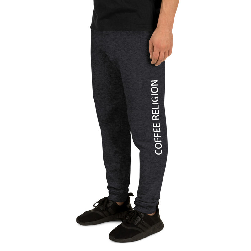 COFFEE RELIGION Unisex Sweats Jogger Yoga Pants - KATANA FASHION BOUTIQUE
