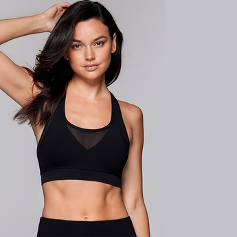 Bella Sports Bra | Black