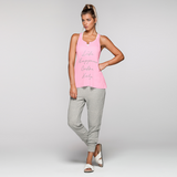 Life Happens Tank | Baby Pink