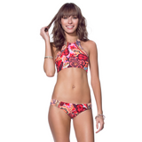 Surfer's Selfie Bikini Bottoms | Red