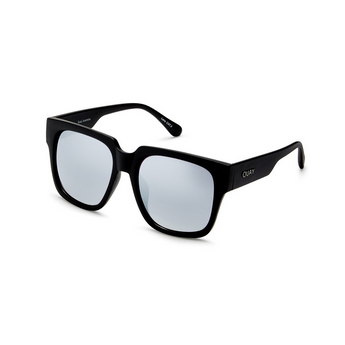 On The Prowl Sunglasses | Black & Silver