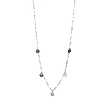 Blake Necklace | Silver