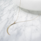 Lena Necklace | Gold