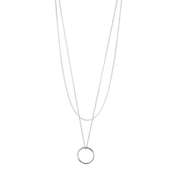 Kate Necklace | Silver