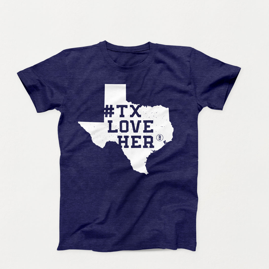 #TXLOVEHER (Hurricane Harvey Relief T-Shirt)