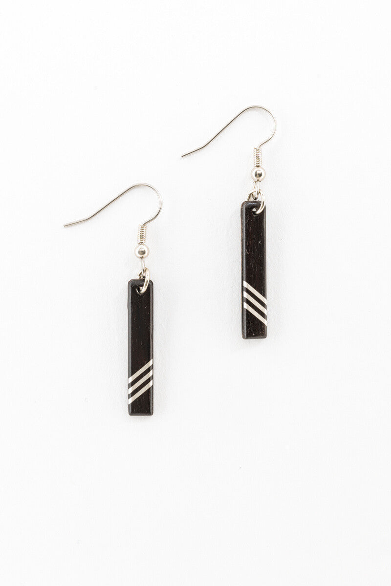 Earrings - Petite Chevrons