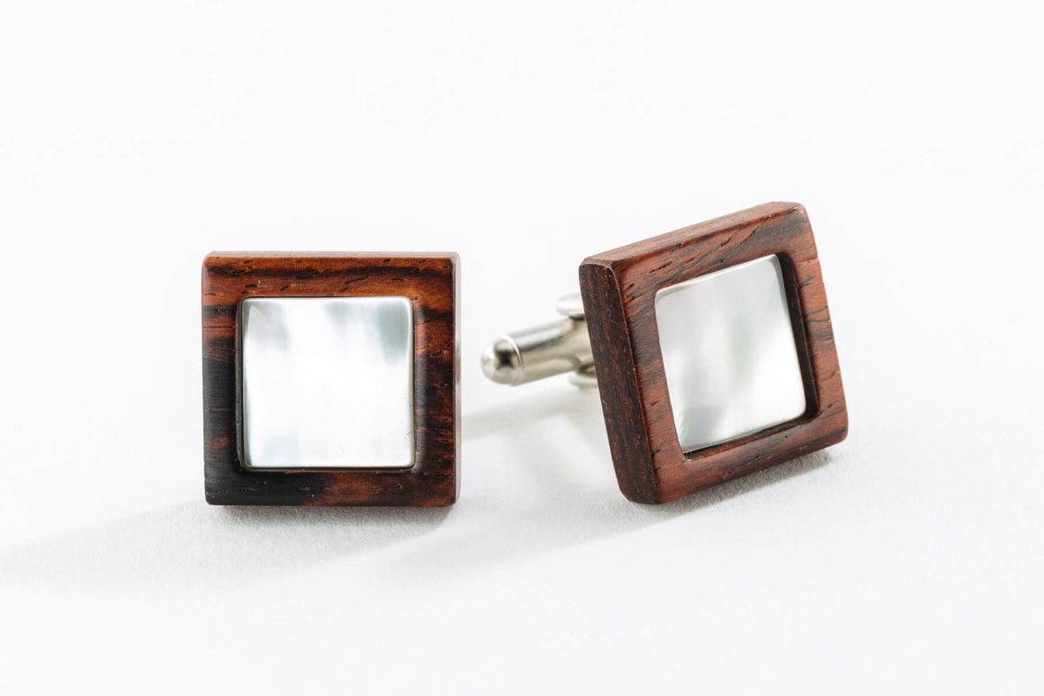Cuff Links - Mother of Pearl