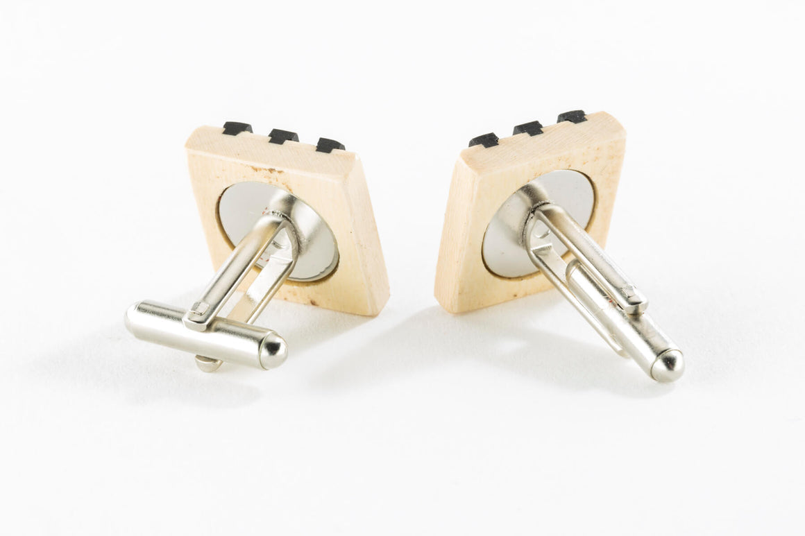 Cuff Links - Piano Keys