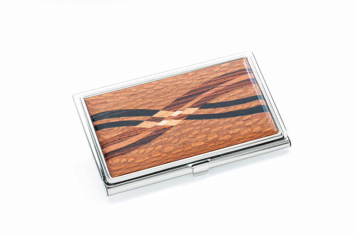 Business Card Case - Inlay