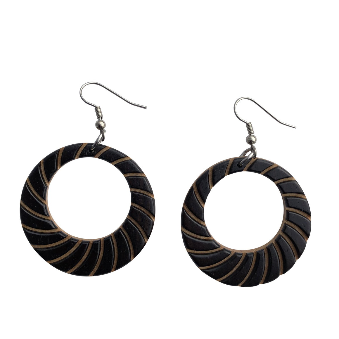 Earrings - Large Hoop