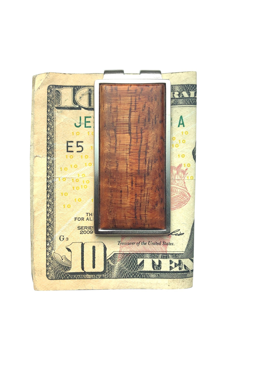 Money Clip - Hawaiian Koa