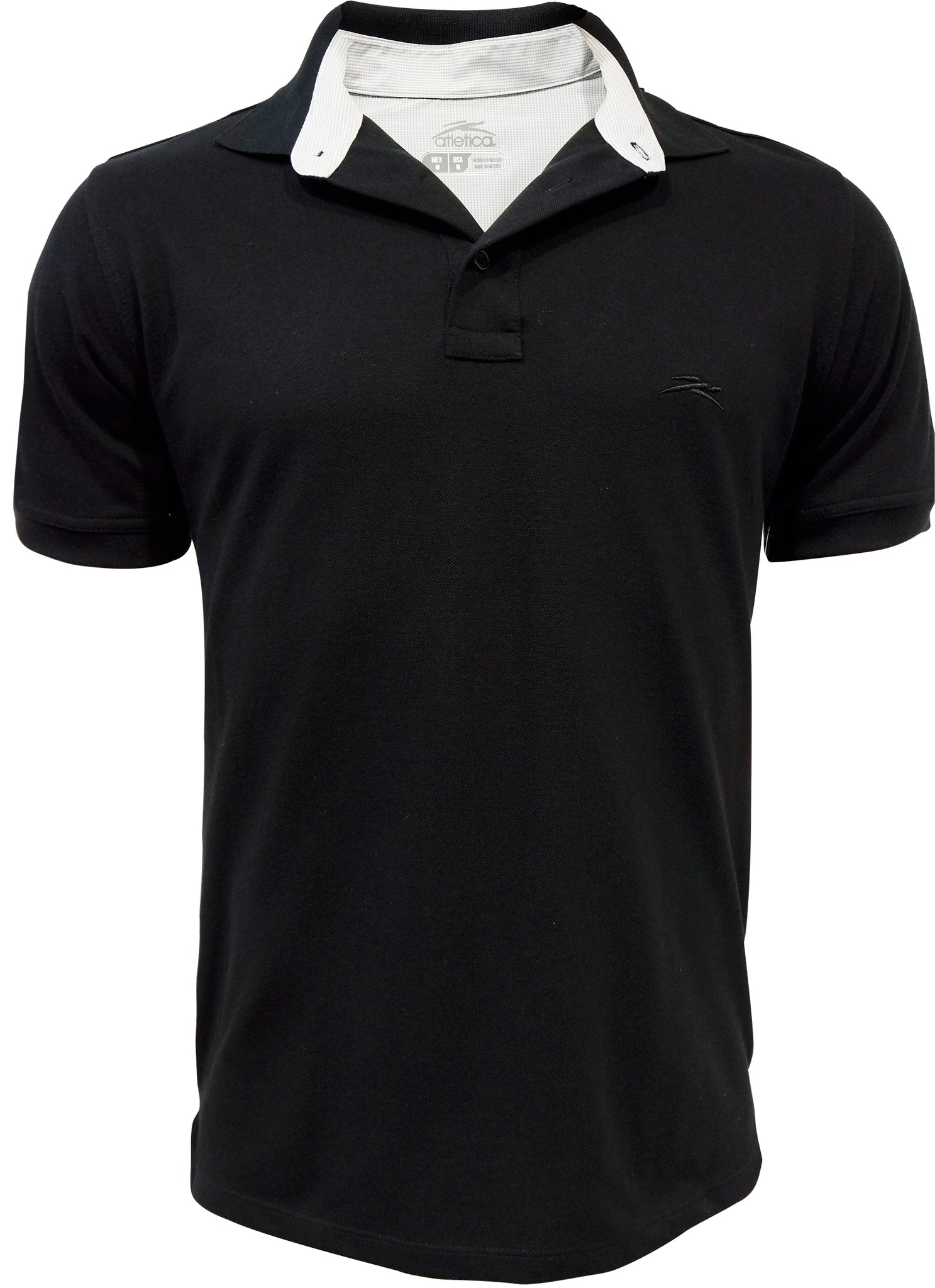 Polo Pie De Cuello Negro