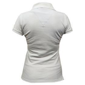 Polo Pie De Cuello Dama Blanco