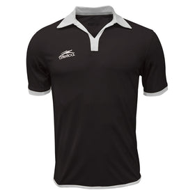 Jersey Tipo Polo Atletica Negro