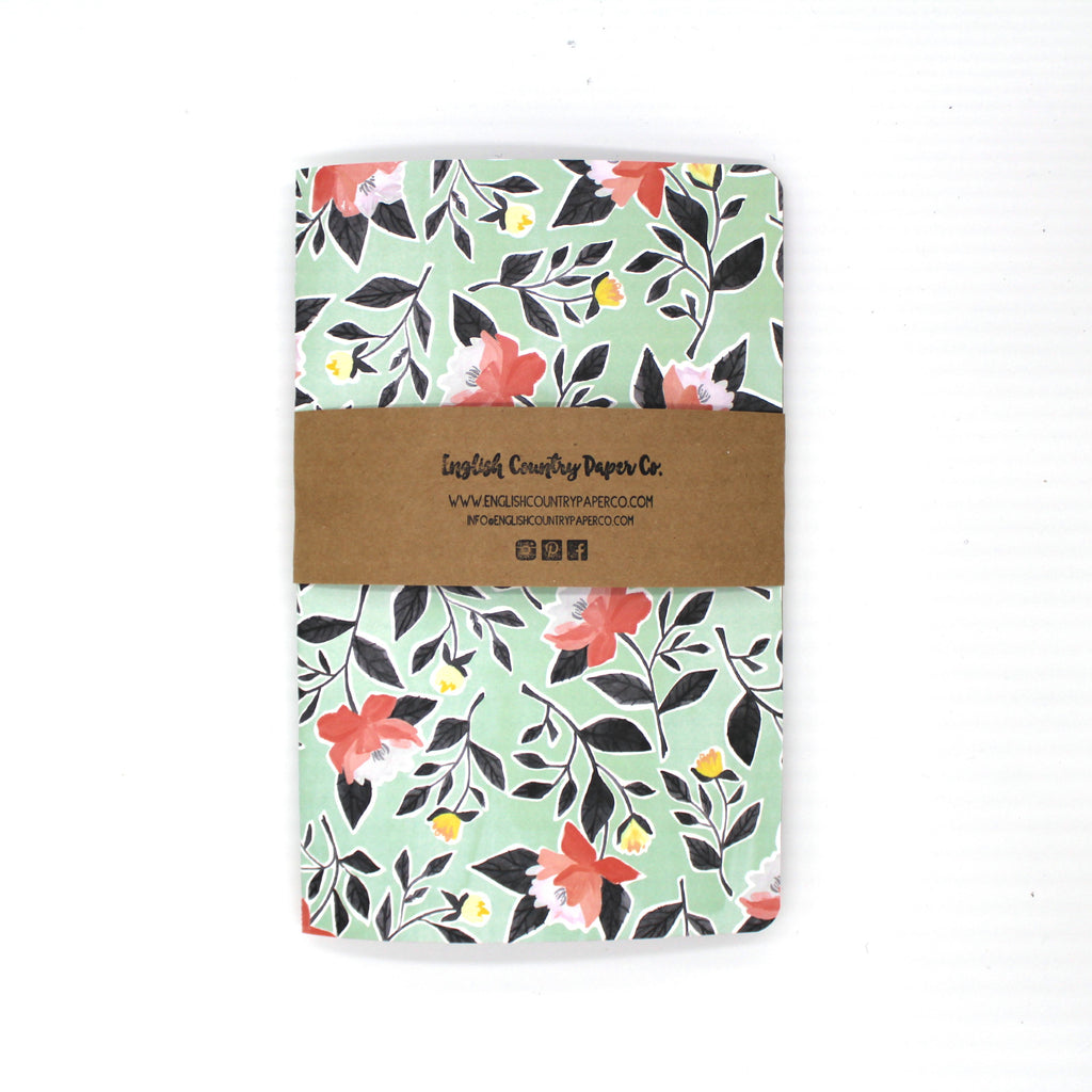 Apple Blossom Notebook - English Country Paper Co.