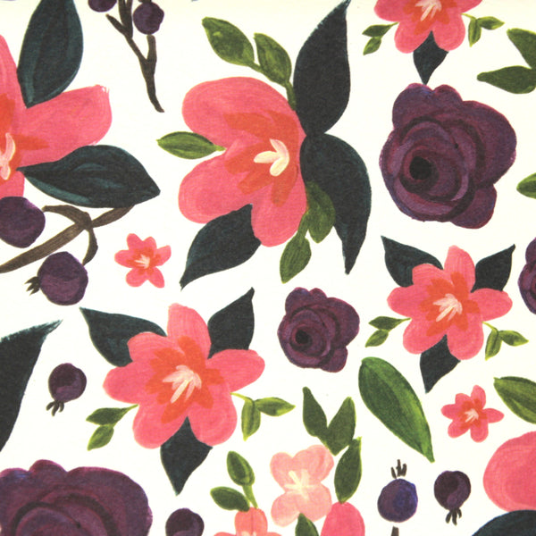 Azalea Notebook - English Country Paper Co.