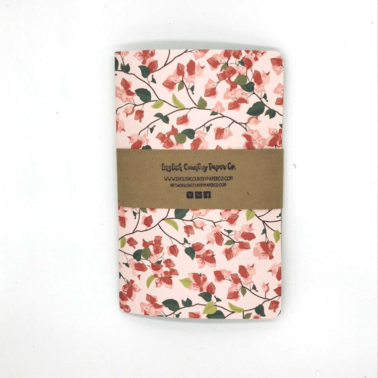 (Wholesale) Bougainvillea Notebook - English Country Paper Co.