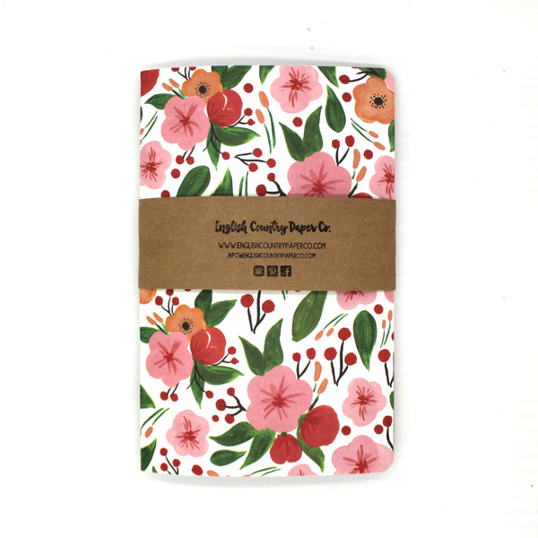 Cherry Blossom Notebook - English Country Paper Co.